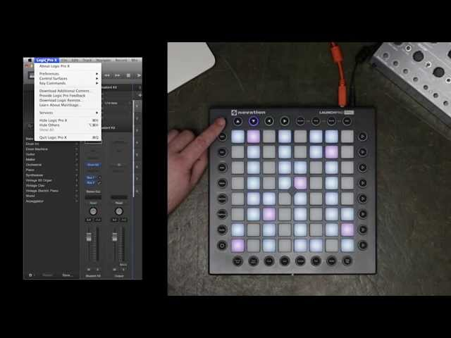 Novation // Launchpad Pro with Logic Pro X