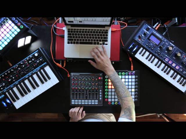 Novation // Finish Something Part 5: Ableton arrangement tips with Launch Control XL & Launchpad Pro