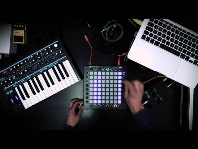 Novation // Launchpad Pro Techno-Jam by Alexander Franz