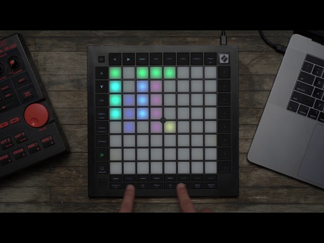 Novation // Launchpad Pro - Ableton: Track Controls [Track Toggles]